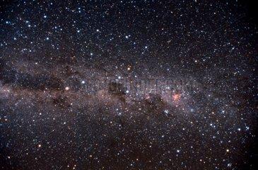 La Voie Lactée vue de l'hémisphère austral