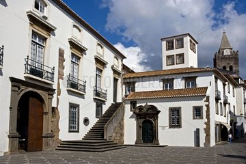 Historical Center of Funchal Madeira island Portugal