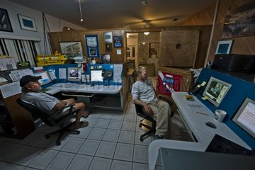 Mission Control Center - Aquarius Reef Base Floride