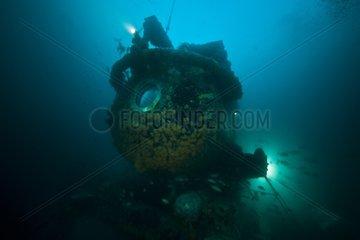 Bow of Aquarius - Aquarius Reef Base Florida