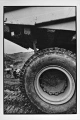 Wheel Machine Mine Ha Tu Hongai Vietnam