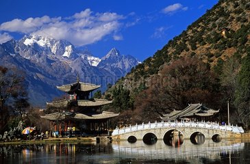 Pavilion of the Moon and Jade Mountain Lijiang South China