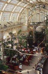 Le café Palaren dans les serres du palais Hofburg  à Vienne
