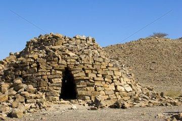 Pyramide de la nécropole de Bat 2000 av JC