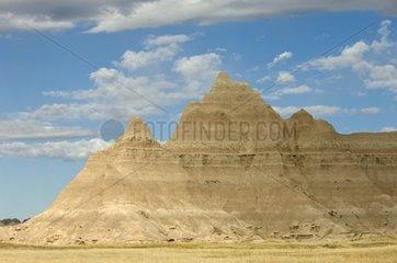 Landscape of the Badlands NP South Dakota USA