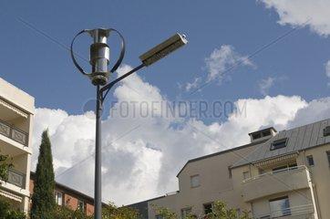 A lamp wind in Issy-les-Moulineaux
