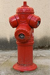 Fire hydrant for firefighters use France