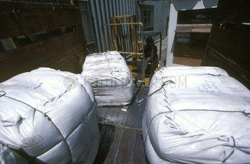 Vicuna wool packs Factory Incalpaca Arequipa Peru
