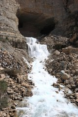 Afqa falling Spring out of the grotto of Aphrodite Lebanon