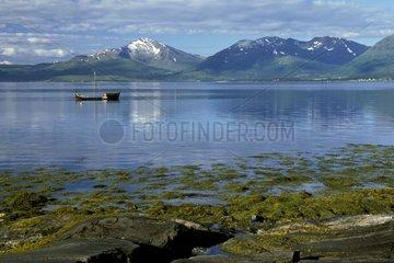 Bateau traditionnel de type Nordland Femboring Norvège