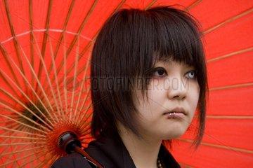 Rassemblement de jeunes filles travesties à Tokyo