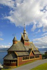 Stavkirke St. Olaf Balestrand Norway