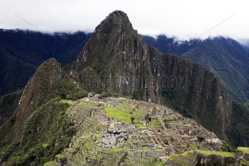 Historic sanctuary of Machu Pichu Urubamba Peru