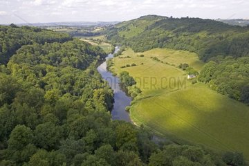 River Wye from Symonds Yat  Forest of Dean  United-Kingdom