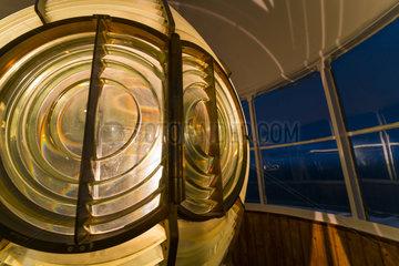 Cape Mayor Lighthouse  Santander  Bay of Santander  Cantabrian Sea  Cantabria  Spain