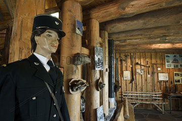 Forest guard  Museum of the Schlitte and the Crafts of the wood  Muhlbach sur Munster  Haut-Rhin  Alsace  France