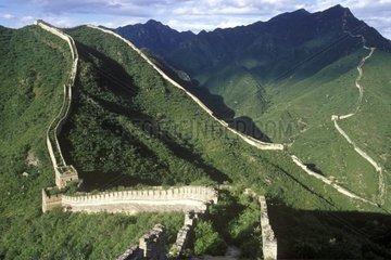 Grande Muraille de Chine à Hanghua au nord de Pékin Chine