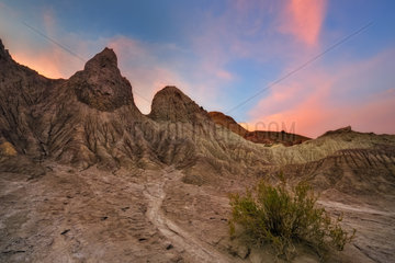 Valle del Arco Iris. Landscapes od desert  Chile