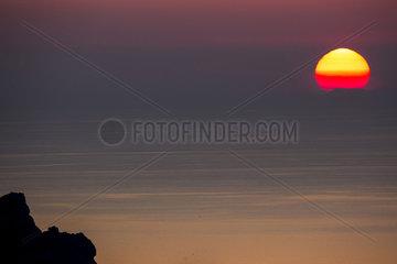 Sunset  Ibiza  Baleares Islands  Spain