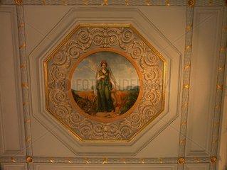Peinture murale  galerie Véro Dodat