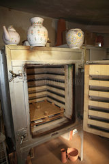 Oven used to bake pottery  Martine Gilles and Jaap Wieman  Village of Brantes  Provence  France