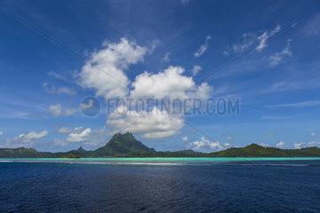 Bora Bora Island  Society Islands  Leeward Islands  French Polynesia