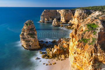 Praia da Marinha  Navy beach  Algarve  Atlantic Ocean  Portugal