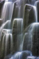 Waterfall  Oregon  USA