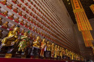 Temple at 10000 Buddhas  Hong Kong  China