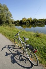 Cycle on the Véloroute along the canal of Rhone to Rhine
