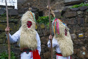 Carnival Sidros y Comedies   Valdesoto  Asturias  Spain  Europe