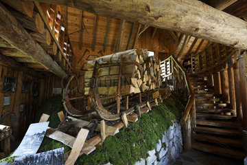 Schlitte  Museum of the Schlitte and the Crafts of the wood  Muhlbach sur Munster  Haut-Rhin  Alsace  Vosges  France