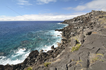 West Coast  Ana Kakenga  Easter Island  Chile