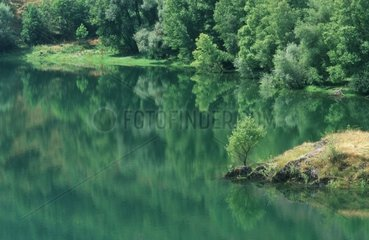 Lake Borén in the Catalan Pyrenees Spain