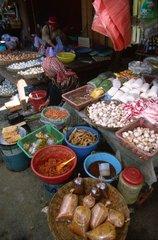 Market hall of Siem Reap Kampuchea