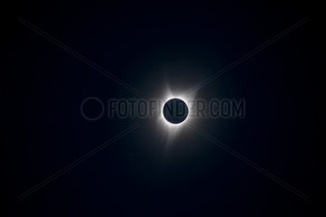 Total solar eclipse of 2017 August  the 21th  Oregon  USA