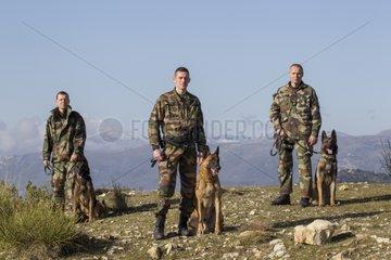 Canine Crew Mounted Police GIC06 - France