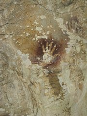 Hand negative - Cave Sumpang bita Sulawesi Indonesia