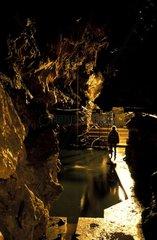 Bassin de rétention du laboratoire souterrain de Moulis
