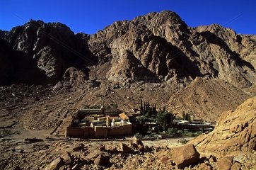 Monastery of Saint Catherine at the foot of Sinai Mount