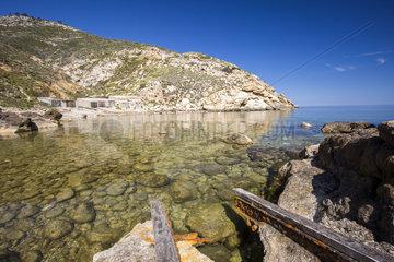 North coast of Ibiza Island  Baleares Islands  Spain