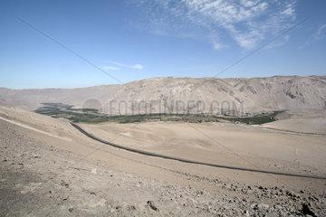 Valle de Lluta  surroundings of Arica  XV Region of Arica and Parinacota  Chile