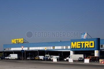 Department store in urban periphery Bulgaria