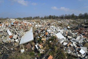 Discharge of rubble - France-Comté France