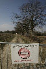 Interdiction d'accès à une zone potentiellement infectée