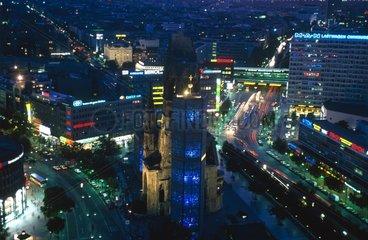 Berlin  Ku Damm la nuit