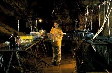 Matériel permettant l'étude de l'écologie souterraine Moulis