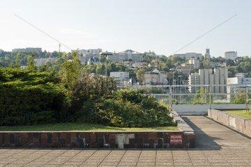Jardin suspendu de Perrache at Lyon France