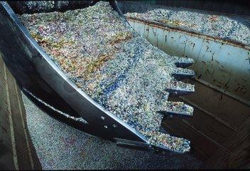 Pastilles utilisées comme combustible en cimenterie