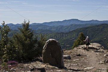 Stevenson trail in the Cévennes France